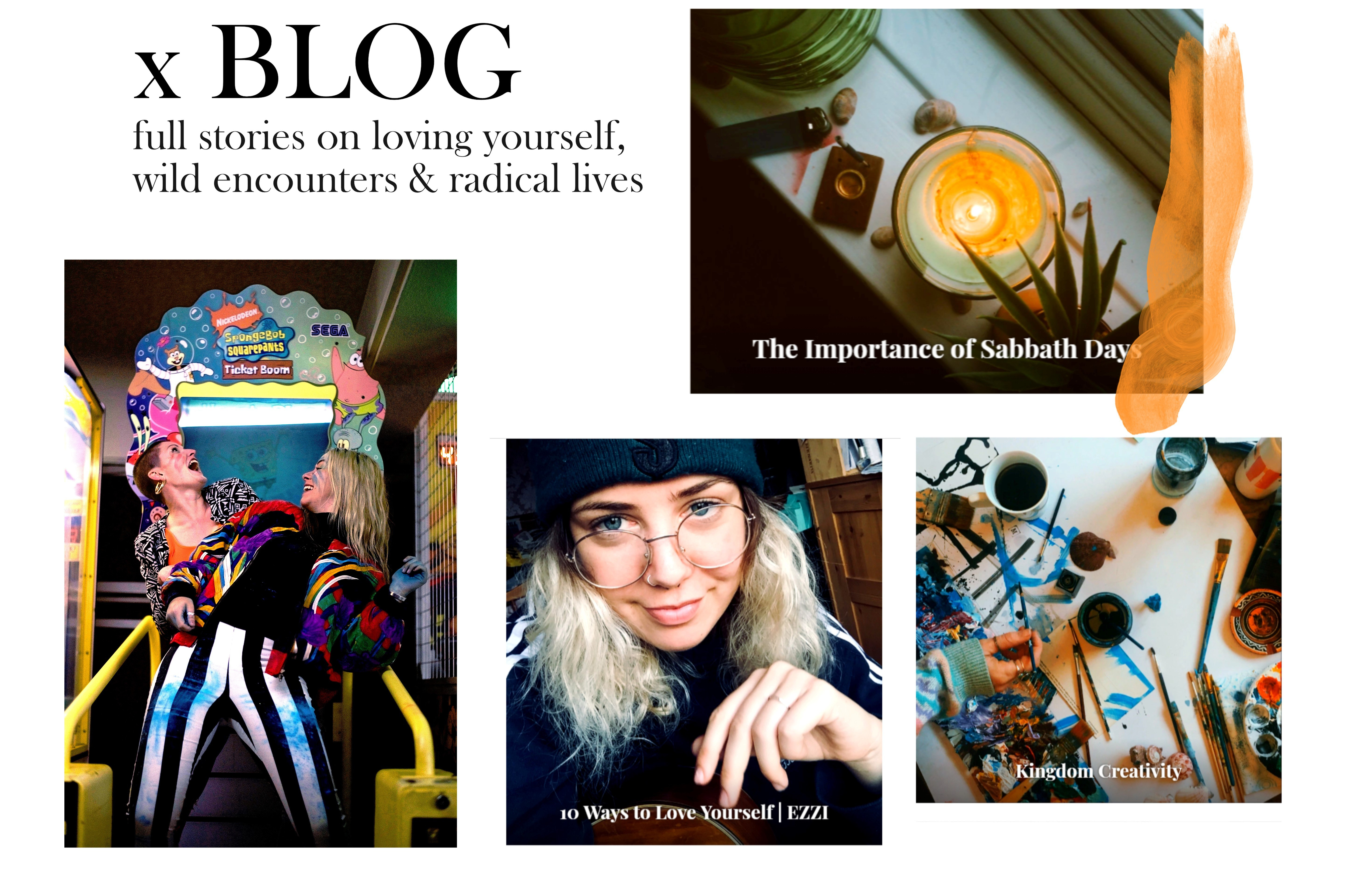 Click here to go to our blog